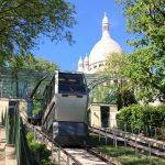 Funiculaire et le Sacré-Coeur de Montmartre