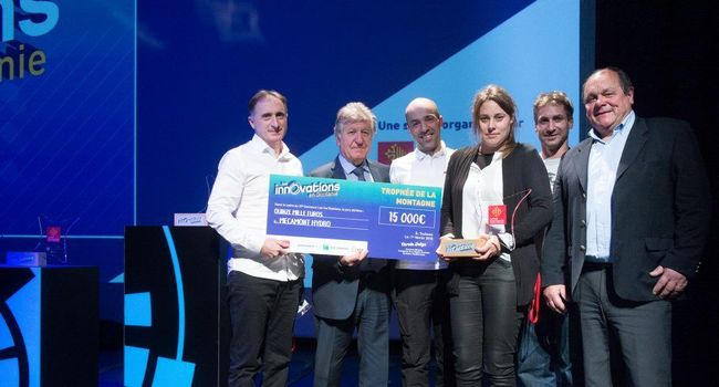 Mécamont Hydro reçoit le prix Montagne du 37e concours Inn'Ovations oirganisé par la région Occitanie