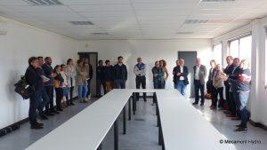 salle de réunion Face Verticale lors de la rencontre avec Initiatives Pyrénées