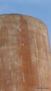 château d'eau de Mécamont Hydro pour l'entraienement des cordistes de Face Verticale