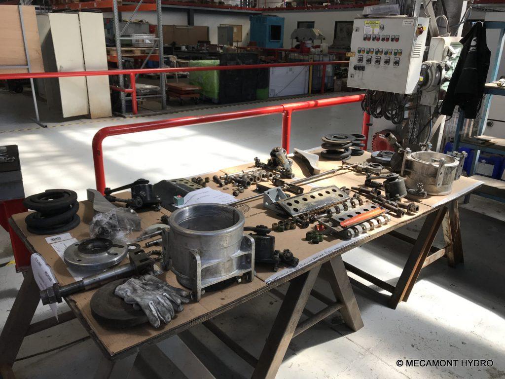 grande inspection charriot téléphérique Altiservice Saint-Lary Soulan
