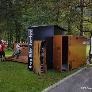 Box vélo pour station de recharge électrique pour VAE