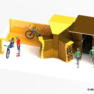 borne de recharge pour VAE (Vélo à Assistance Electrique)
