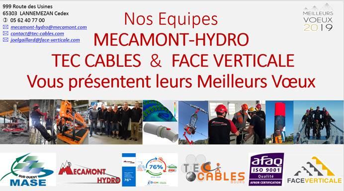 Voeux de Mécamont Hydro- entreprise industrielle à Lannemezan (65)