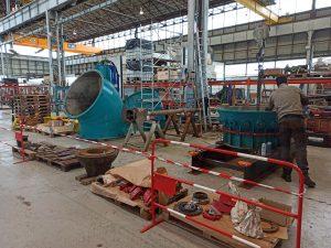Turbine maintenance dans nos ateliers